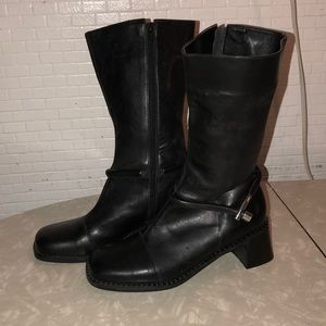 A. Marinelli Leather Boots